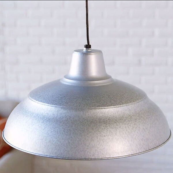 R Series Galvanized 17-Inch Warehouse Cord Hung Outdoor Pendant, image 5