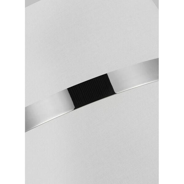 Cordtlandt Polished Nickel 18-Inch Three-Light Pendant, image 2