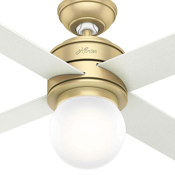 Hepburn Modern Brass 52-Inch One-Light LED Adjustable Ceiling Fan, image 2