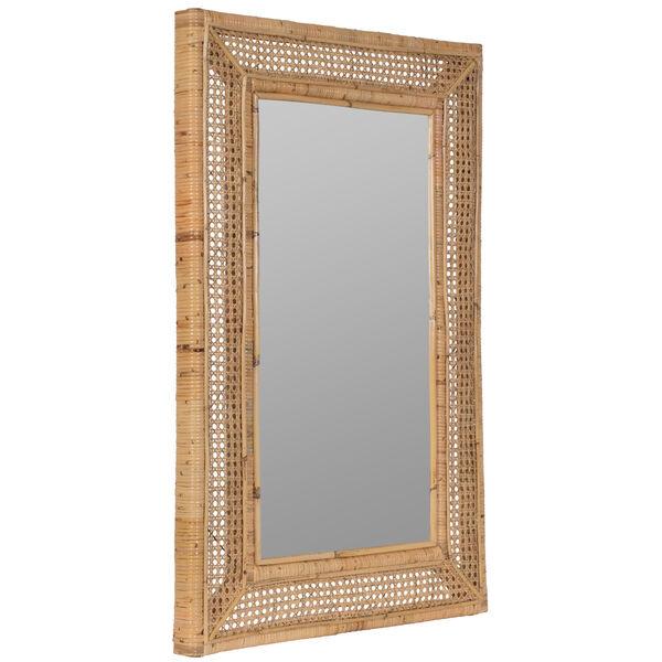 Jameson Naturla Rattan 36-Inch x 24-Inch Wall Mirror, image 3