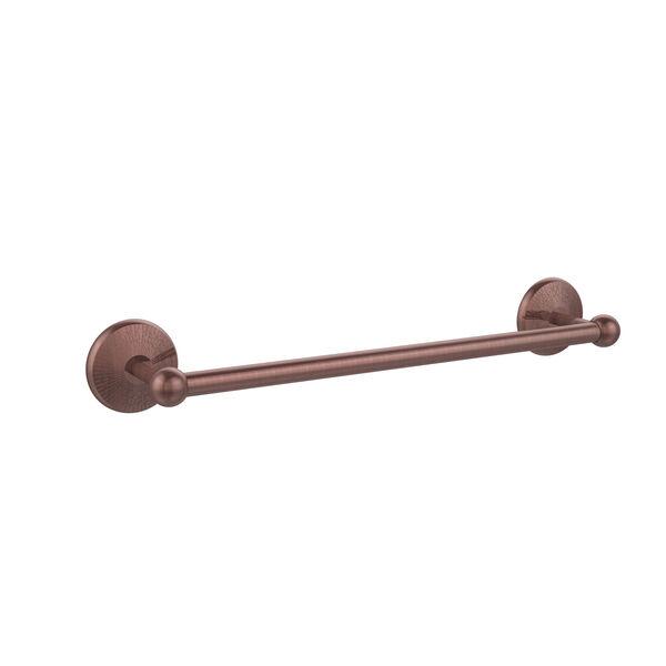 Antique Copper 24-Inch Towel Bar, image 1