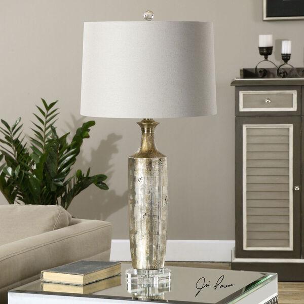 Valdieri Metallic Bronze One-Light Table Lamp, image 2