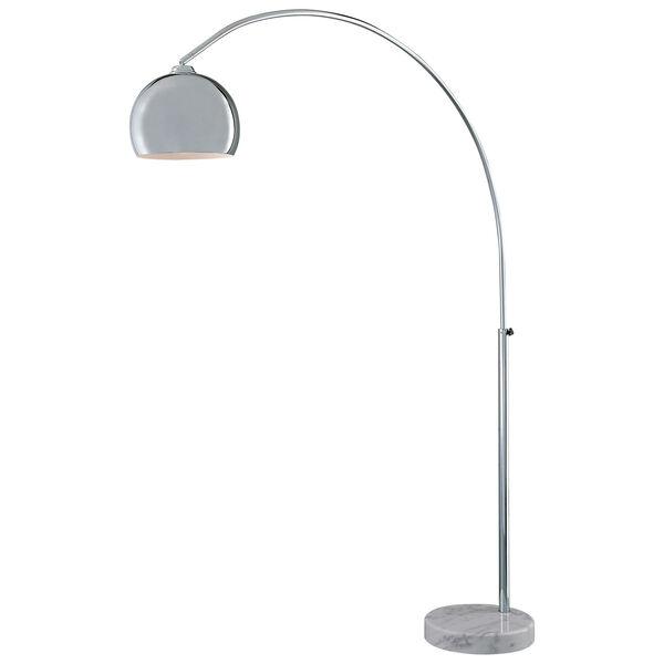 Arc Chrome Floor Lamp, image 1