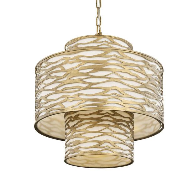 Kato Havana Gold Four-Light Chandelier, image 1