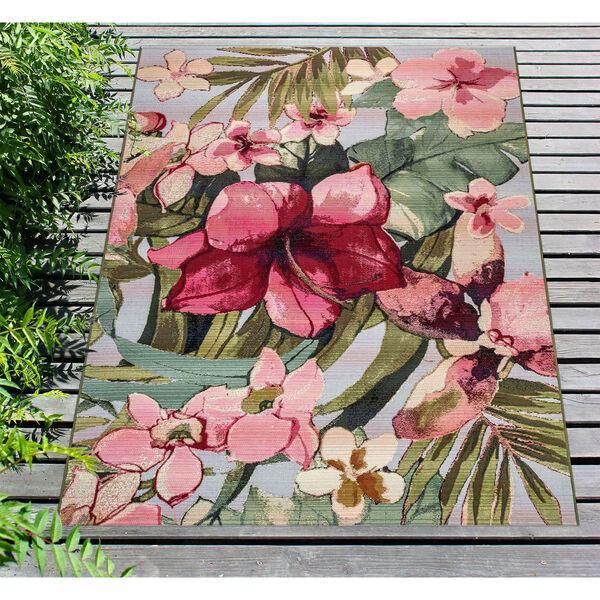 Marina Tropical Floral Indoor/Outdoor Rug, image 4