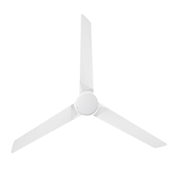 Roboto Matte White 62-Inch Downrod Ceiling Fans, image 3