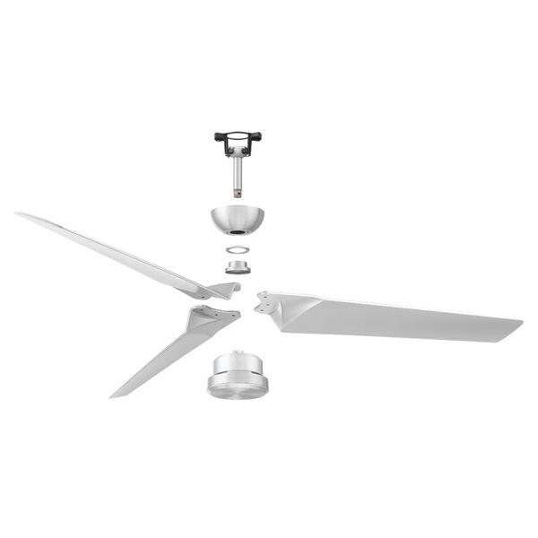 Roboto 52-Inch Downrod Ceiling Fans, image 4