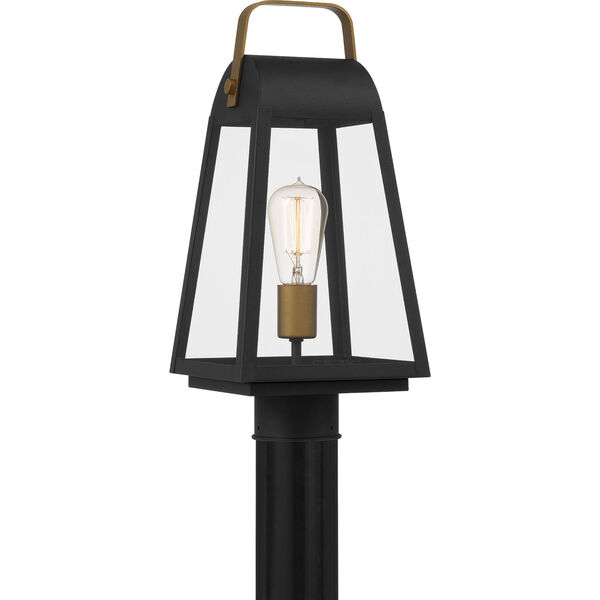 O-Leary Earth Black One-Light Outdoor Post Mount, image 1