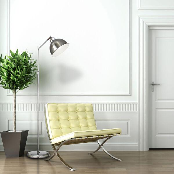 Covington Brushed Nickel LED Floor Lamp, image 5