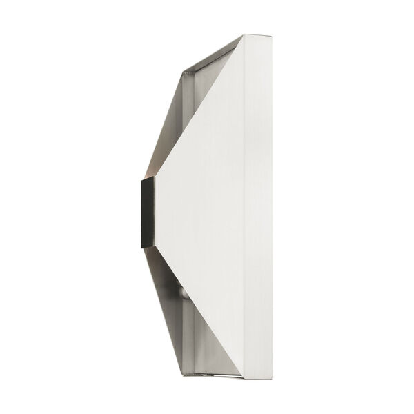 Lexford Brushed Nickel Two-Light ADA Wall Sconce, image 6