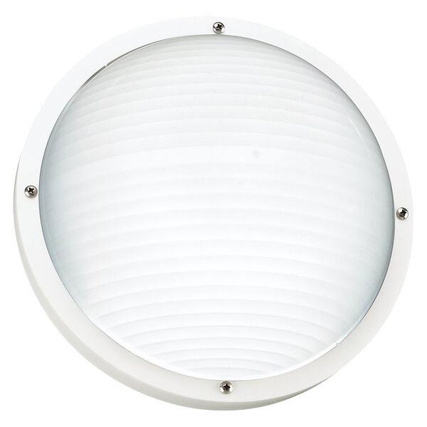 Bayside White Outdoor Wall Lantern, image 1