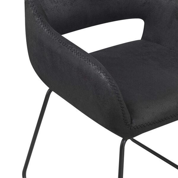 Samantha Antique Black Accent Chair, image 6