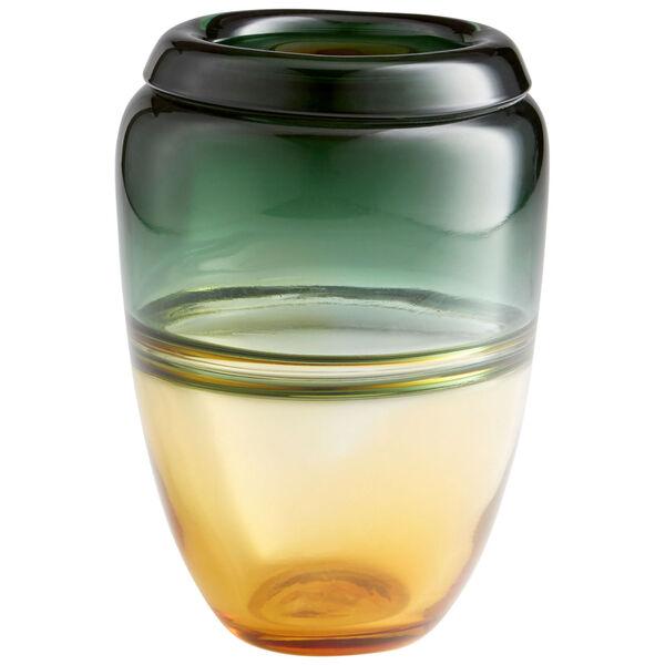 Amber and Green Small Callisto Vase, image 1