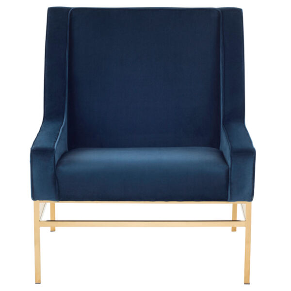 Theodore Peacock and Gold Occasional Chair, image 2