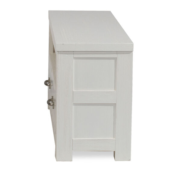Highlands White Dressing Bench, image 3
