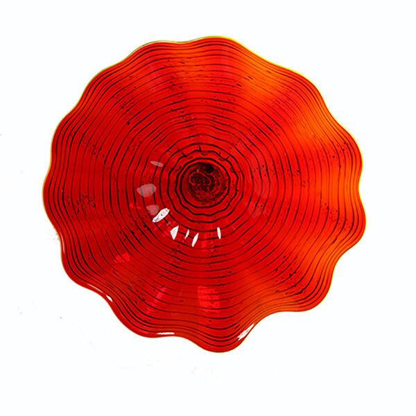 Red Wall Plate - Medium, image 1