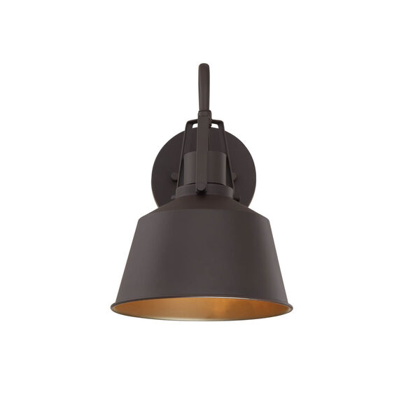 Lex Oil Rubbed Bronze Eight-Inch One-Light Outdoor Wall Sconce, image 4