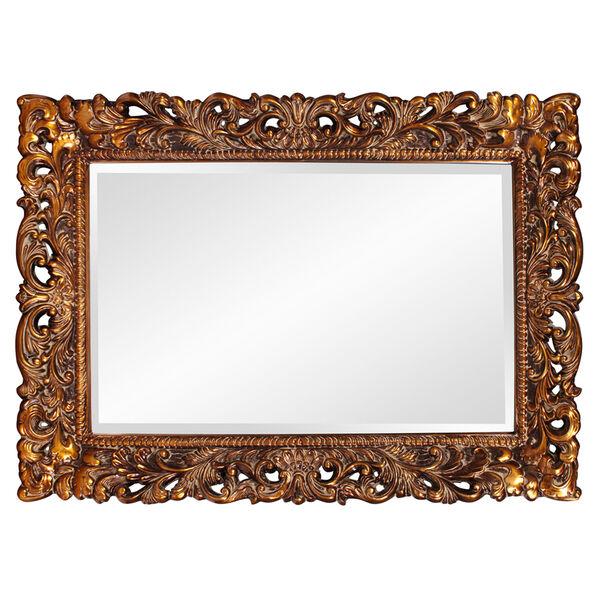 Barcelona Gold Rectangle Mirror, image 2