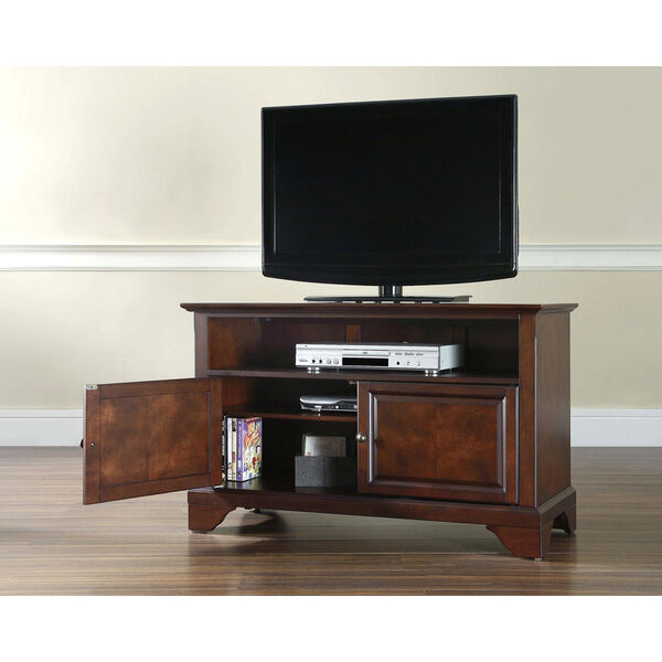LaFayette 42-Inch TV Stand in Vintage Mahogany Finish, image 4