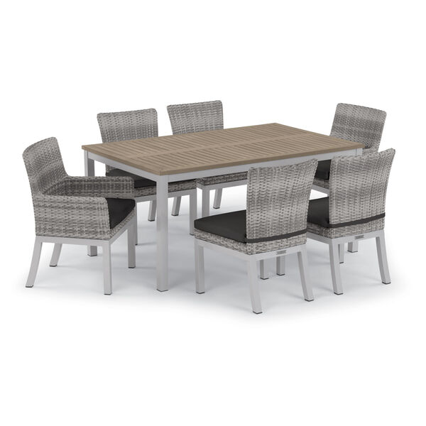 Travira 63-Inch Vintage Tekwood Dining Table, image 6