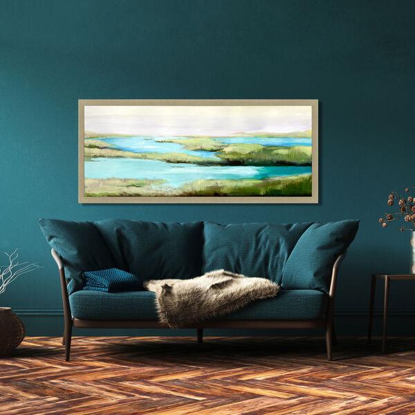 Pardis Perdu Green Framed Art, image 1