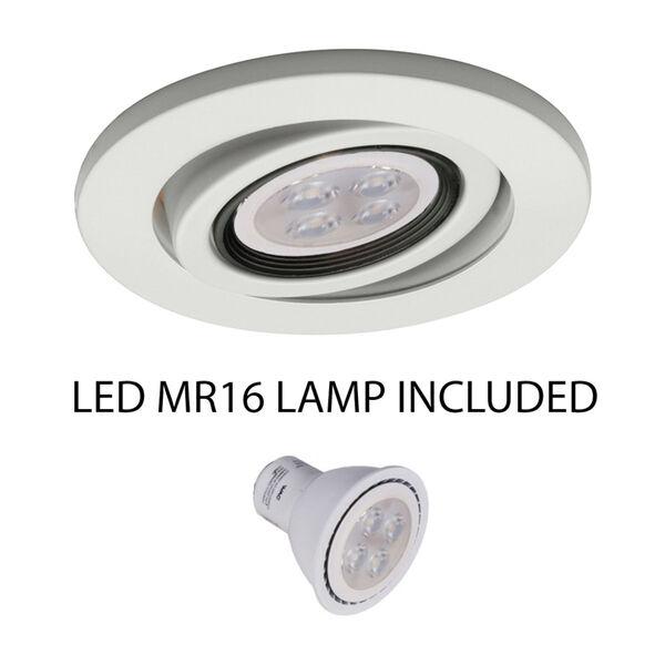 White 5-Inch LED Adjustable Gimbal Trim, image 2