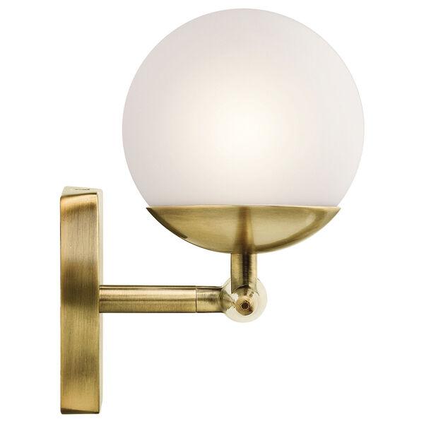 Jasper Natural Brass Three-Light Bath Sconce, image 3