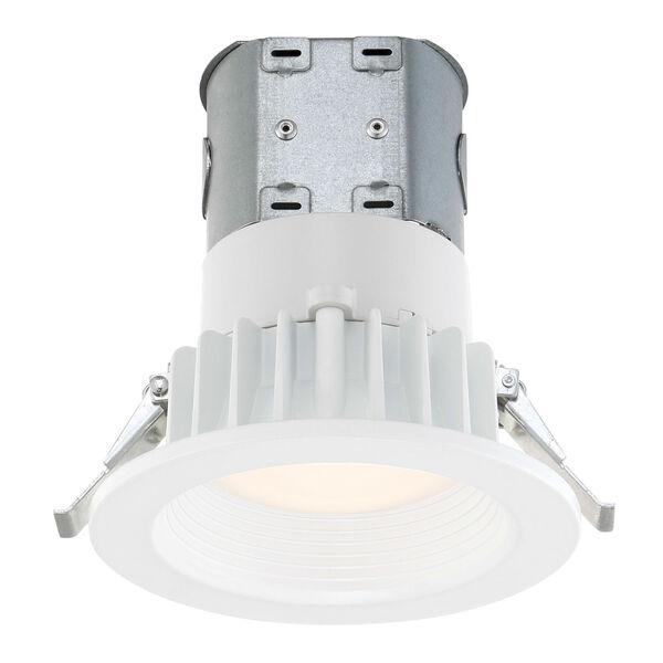 White Four-Inch 2700K LED Recessed Light, image 1