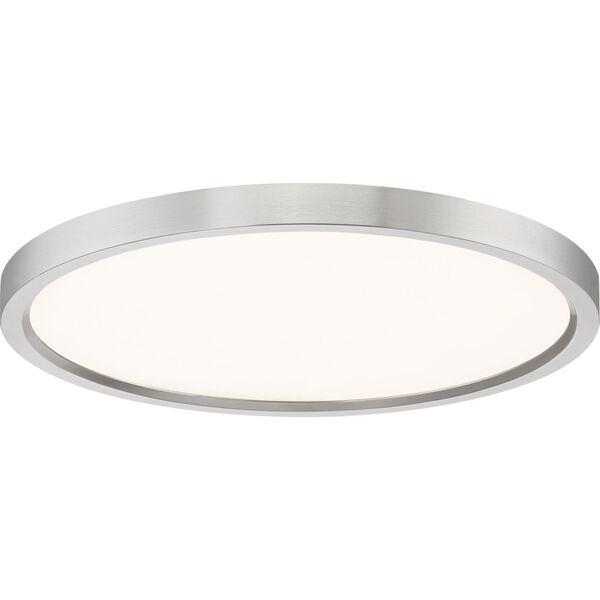 Outskirt Brushed Nickel 15-Inch LED Flush Mount, image 3