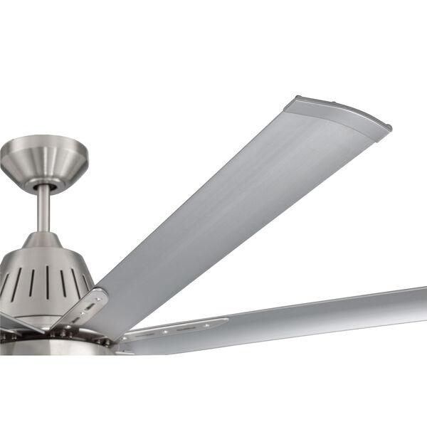 Wingtip Brushed Polished Nickel 72-Inch Ceiling Fan, image 7
