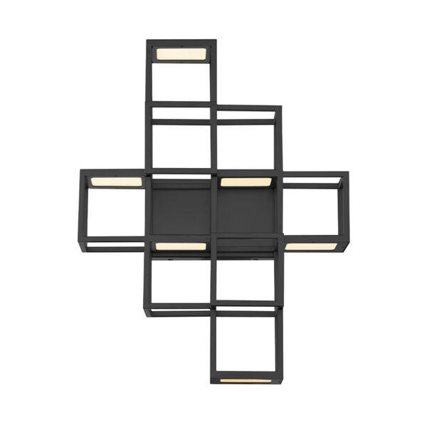 Ferro Black LED Wall Sconce, image 2