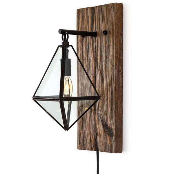 Terra Brown One-Light Wall Sconce, image 1