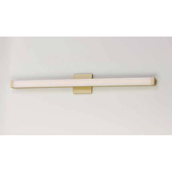 Gold 36-Inch LED ADA Bath Bar Title 24, image 2
