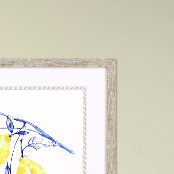 Watercolor Lemons II Yellow Framed Art, image 3