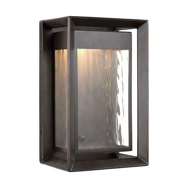 River Bronze 13-Inch LED Outdoor Wall Sconce, image 1