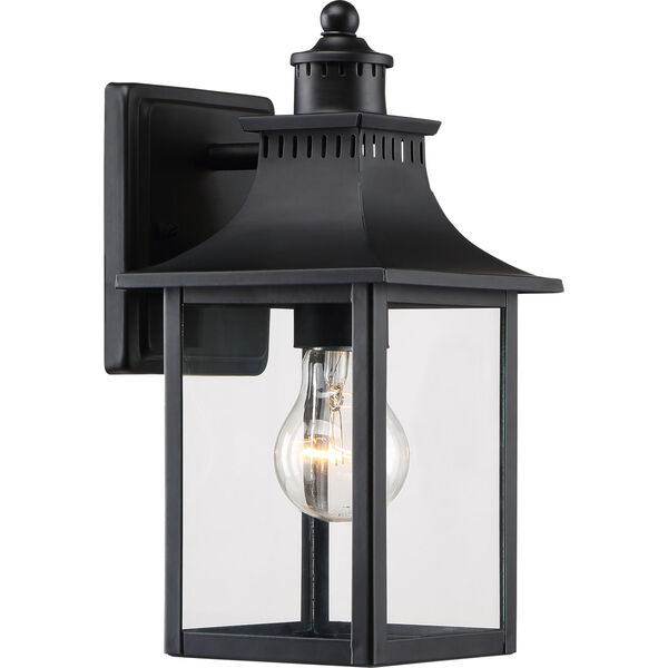Chancellor Mystic Black One-Light Outdoor Wall Sconce, image 1