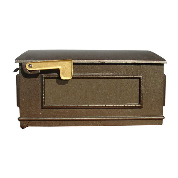 Lewiston Bronze Mailbox, image 1