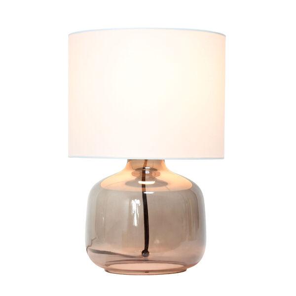Cerise Smoke White One-Light Table Lamp, image 2