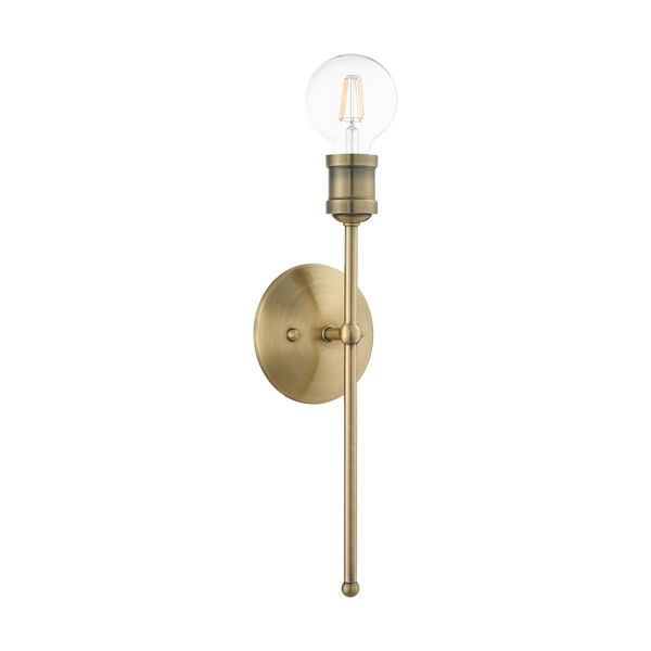 Lansdale Antique Brass One-Light  Wall Sconce, image 2