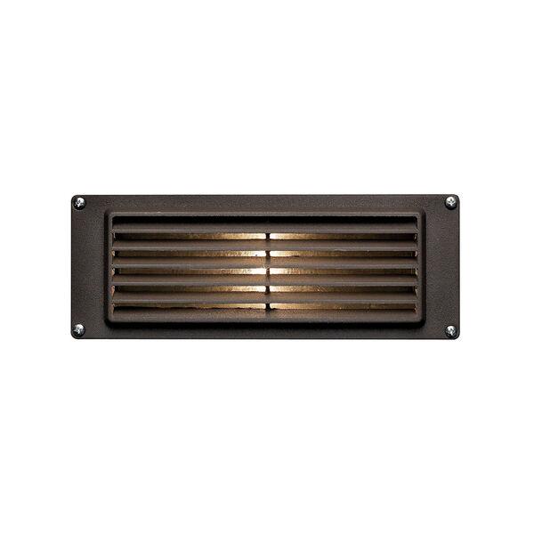 Deck Louvered Bronze LED Deck Light, image 1