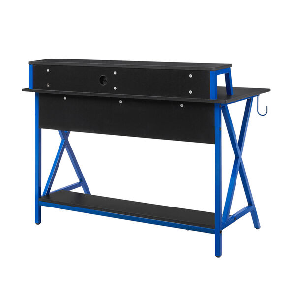 Ian Black Blue Desk, image 5