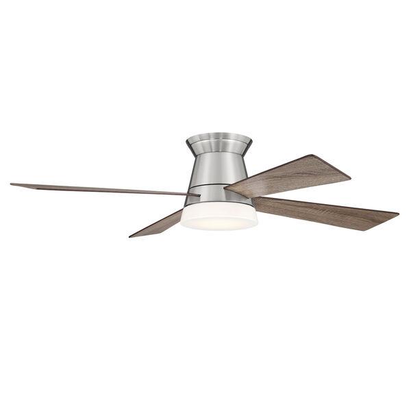 Revello Brushed Polished Nickel 52-Inch LED Ceiling Fan, image 2