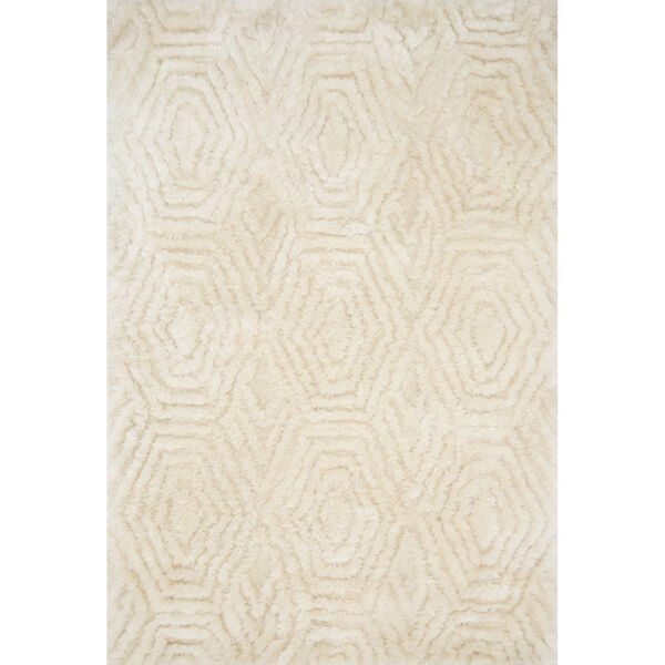Caspia Ivory Rectangle: 5 Ft. x 7 Ft. 6 In. Rug, image 1