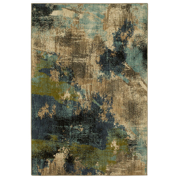 Elements Multicolor Oyster Rectangular: 5 Ft. 3 In. x 7 Ft. 10 In. Rug, image 1