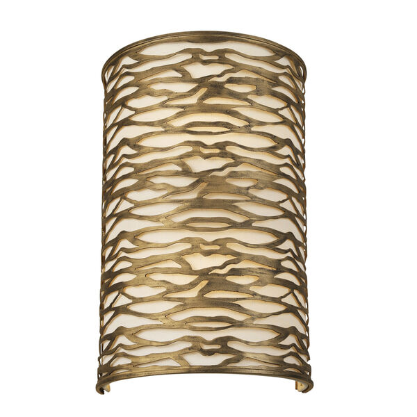 Kato Havana Gold Two-Light Wall Sconce, image 1