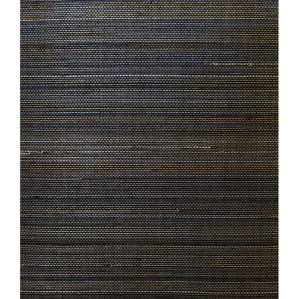 Lillian August Luxe Retreat Midnight Galaxy Abaca Unpasted Wallpaper, image 1