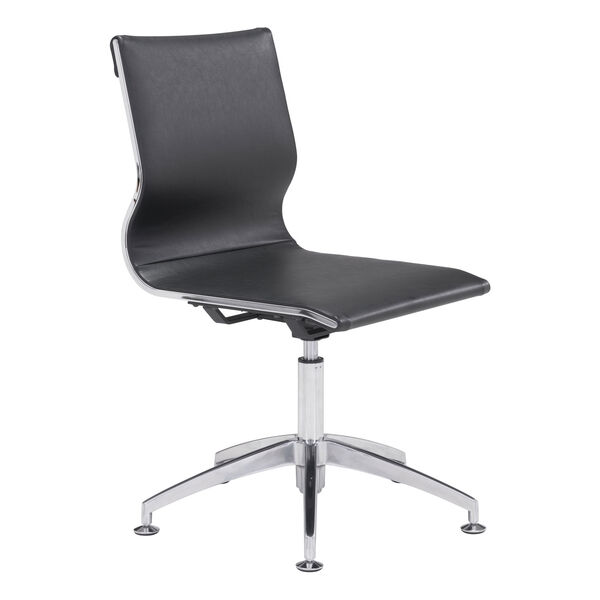 Glider Conference Chair Black, image 1