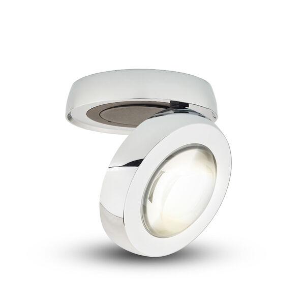 Node Polished Chrome LED Flush Mounted Downlight, image 2