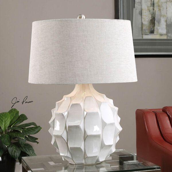 Guerina White One-Light Table Lamp, image 2