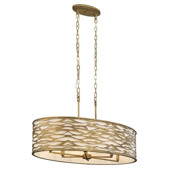 Kato Havana Gold 36-Inch Six-Light Pendant, image 5